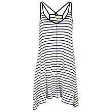 Buy Fat Face Longline Striped Swing Top Online at johnlewis.com