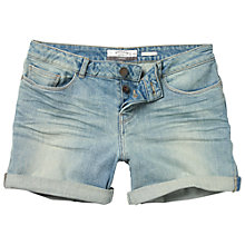 Buy Fat Face Pale Wash Denim Shorts, Denim Online at johnlewis.com