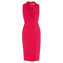 Buy Coast Bettina Crepe Dress, Hot Pink Online at johnlewis.com