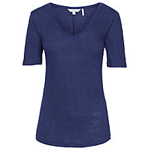 Buy Fat Face Southwold Linen T-Shirt Online at johnlewis.com