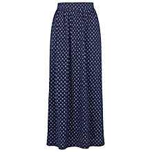 Buy Fat Face Josie Batik Ditsy Maxi Skirt, Navy Online at johnlewis.com