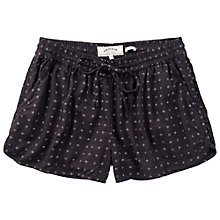Buy Fat Face Juniper Geometric Runner Shorts, Phantom Online at johnlewis.com
