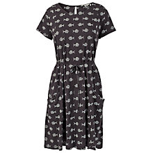 Buy Fat Face Ava Batik Fish Dress, Phantom Online at johnlewis.com