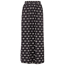 Buy Fat Face Josie Batik Ditsy Maxi Skirt, Phantom Online at johnlewis.com