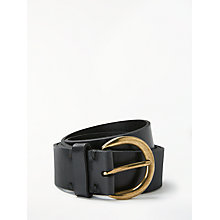 Buy John Lewis Julia Leather Jeans Belt Online at johnlewis.com