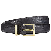 Buy John Lewis Stella Snake Gloss Belt Online at johnlewis.com