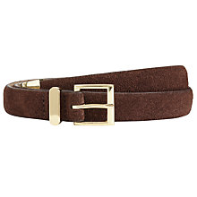 Buy John Lewis Snaffle Suede and Leather Belt Online at johnlewis.com