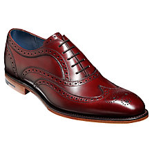 Buy Barkers Jensen Star Stamp Brogues, Cedar/Blue Online at johnlewis.com