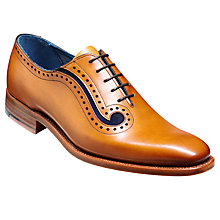 Buy Barkers Lucas Oxford Shoe, Cedar Online at johnlewis.com