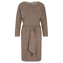 Buy Oui Batwing Melange Jersey Dress, Taupe Online at johnlewis.com