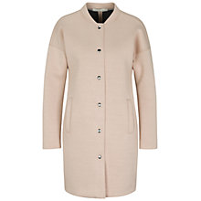 Buy Oui Neoprene Coat, Apricot Online at johnlewis.com