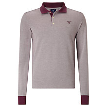 Buy Gant Oxford Pique Polo Shirt Online at johnlewis.com