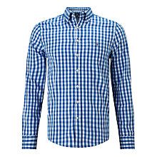 Buy Gant Gingham Oxford Shirt Online at johnlewis.com