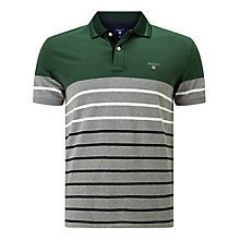 Buy Gant Dropped Stripe Rugby Shirt Online at johnlewis.com
