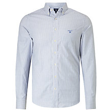 Buy Gant Oxford Banker Shirt, Nautical Blue Online at johnlewis.com