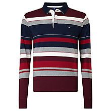 Buy Gant Multi Stripe Rugby Shirt Online at johnlewis.com