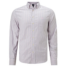 Buy Gant Oxford Banker Shirt, Bright Pink Online at johnlewis.com