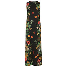 Buy Warehouse Palm Print Jungle Dress, Multi Online at johnlewis.com