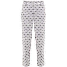 Buy Mint Velvet Luisa Print Cotton Capri Trousers, Multi Online at johnlewis.com