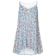 Buy Fat Face Betty Ditsy Top, White Online at johnlewis.com