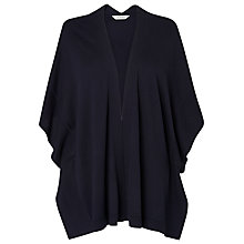 Buy L.K. Bennett Dita Kimono Cardigan, Blue Online at johnlewis.com