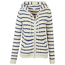 Buy Fat Face Dawlish Stripe Hoody, Ivory Online at johnlewis.com