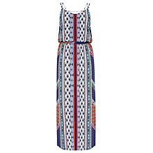 Buy Warehouse Bright Aztec Dress, Multi Online at johnlewis.com
