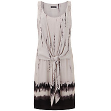 Buy Mint Velvet Honey Print Tie Front Dress, Multi Online at johnlewis.com