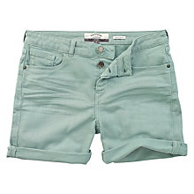 Buy Fat Face Garment Dye Denim Shorts Online at johnlewis.com