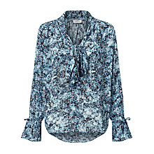 Buy Pyrus Annie Printed Tie Blouse, Resonance Print Online at johnlewis.com