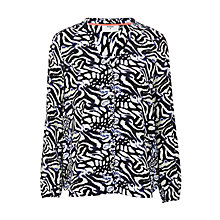 Buy Pyrus Kit Silk Print Blouse, Ocelot Light Online at johnlewis.com