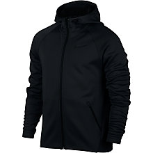 Buy Nike Therma Sphere Training Hoodie, Black Online at johnlewis.com