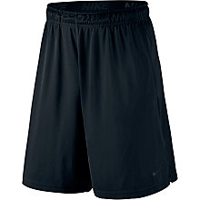 Buy Nike Training Shorts, Black/Dark Grey Online at johnlewis.com