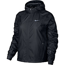 Buy Nike Shield Women's Running Jacket, Black Online at johnlewis.com