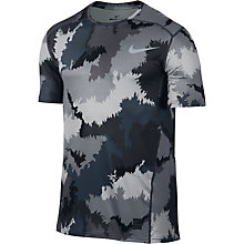 Buy Nike Pro Hypercool Camo Print Training Top Online at johnlewis.com