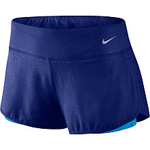 Buy Nike Jacquard Mesh Running Shorts, Deep Royal Blue/Light Photo Blue Online at johnlewis.com