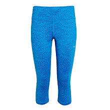 Buy Nike Power Epic Running Capri Tights, Blue Online at johnlewis.com