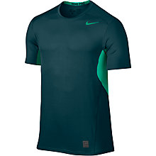 Buy Nike Pro Hypercool Training Top, Midnight Turquoise/Teal Charge Online at johnlewis.com