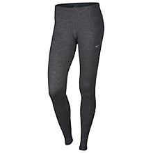 Buy Nike Power Epic Running Tights, Dark Grey/Black Online at johnlewis.com