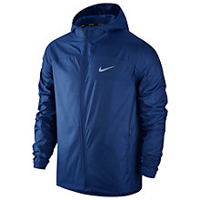 Buy Nike Shield Men's Running Jacket, Deep Royal Blue Online at johnlewis.com