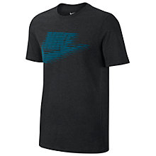 Buy Nike Sportswear T-Shirt, Black Online at johnlewis.com