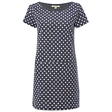 Buy White Stuff Festival Jersey Tunic Top, Navy Online at johnlewis.com