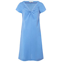 Buy White Stuff Summer Twist Dress, Wash Blue Online at johnlewis.com