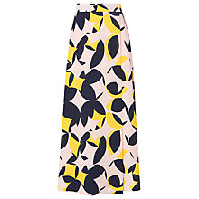 Buy L.K. Bennett Lina Jacquard Skirt, Multi Online at johnlewis.com