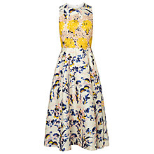 Buy L.K. Bennett Ine Silk Cotton Dress, Multi Online at johnlewis.com