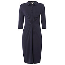 Buy White Stuff Judith Jersey Shirt Dress, Navy Online at johnlewis.com