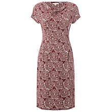 Buy White Stuff Summer Cowl Dress, Plum Pink Online at johnlewis.com