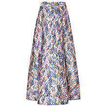 Buy L.K. Bennett Sulan Statement Skirt, Multi Online at johnlewis.com