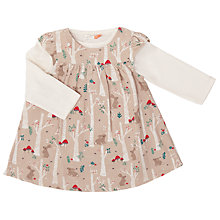 Buy John Lewis Baby Rabbit Pini And T-Shirt Set, Tan/Cream Online at johnlewis.com