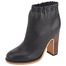 Buy See by Chloé Jane Block Heeled Ankle Boots, Black Online at johnlewis.com
